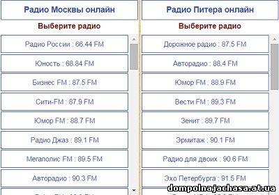 Бесплатное онлайн радио