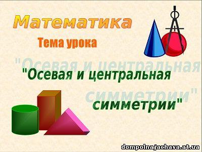 презентация по симметрии