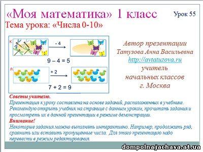 презентация цифры от 0 до 10