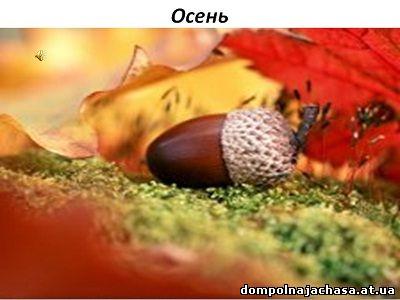 презентация осень