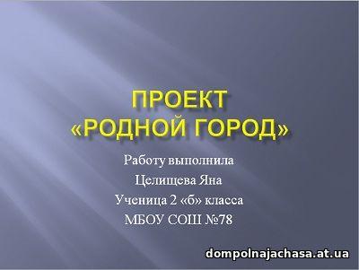 презентация Родной город. Нижний Новгород