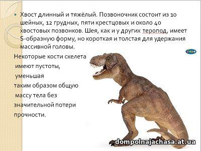 презентация Тираннозавр