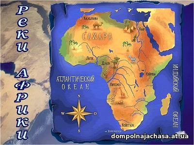 презентация Реки Африки