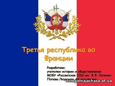 презентация Третья республика