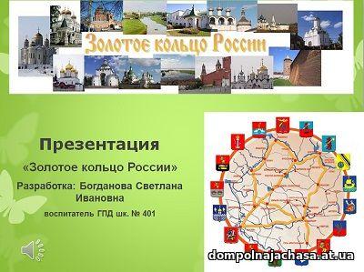 презентация Золотое кольцо России
