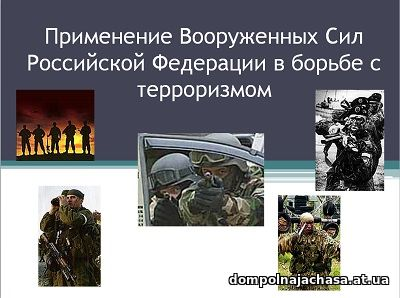 презентация Борьба с терроризмом